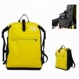 Waterproof Backpack Yellow 30 Liters for camping