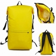 Waterproof Backpack Yellow 30 Liters for outdoor sports