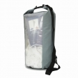 Waterproof Dry Bag Gray&Transparent 40 Liters for drifting